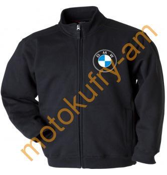 Mikina s potiskem BMW propínací vel. XL