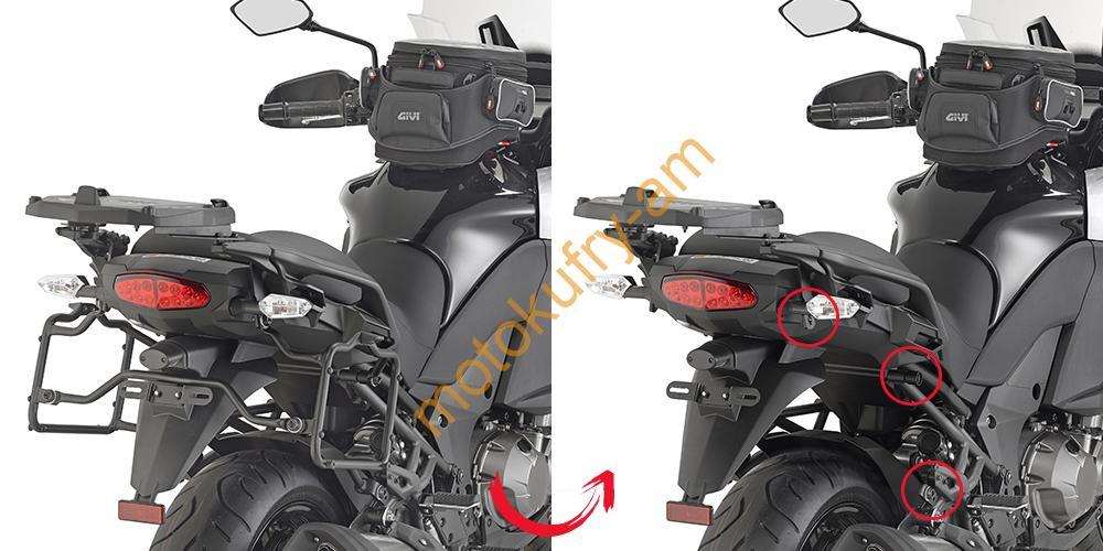 a599cbe8f9faf Kawasaki Versys 1000 15-16 nosič kufrů boční PLR4113-KLR4113 ...