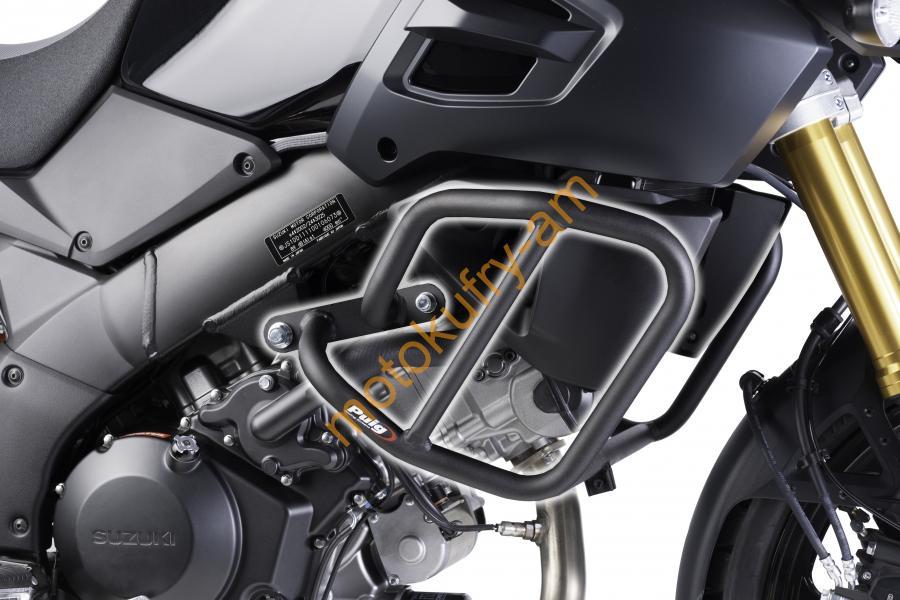 b160427d939fe Suzuki DL 1000 V-Strom (14-15) padací rám 6542N | motoshop motokufry ...