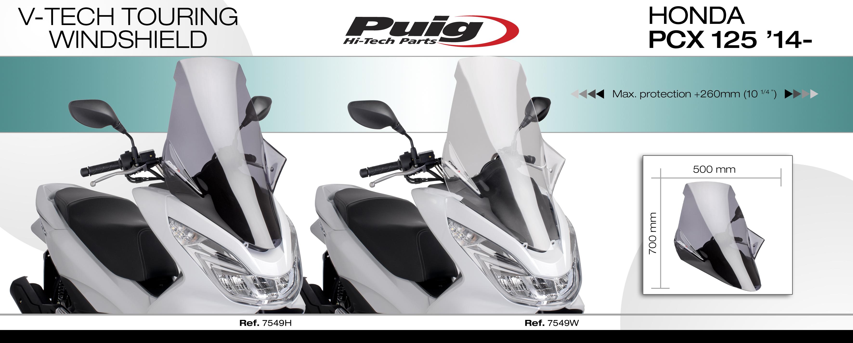 plexiskla kappa plexi puig honda pcx    motoshop motokufry motobrasny givi