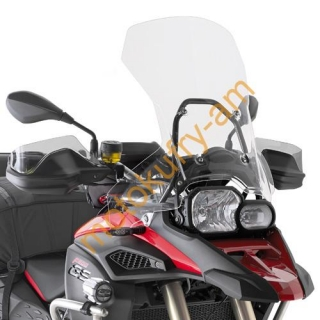 BMW F800GS Adventure plexi Givi D5110ST