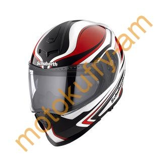 Integrální přilba Schuberth S2 Sport Tech white red