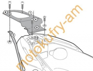 Piaggio MP3 Yourban 125-300 plotna monokey KR5600
