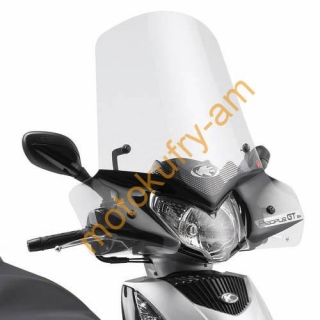 Plexi KYMCO PEOPLE GTi 125-200-300 443A+D443KIT