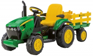 John Deere Ground Force s vlekem 12V Peg-Pérego