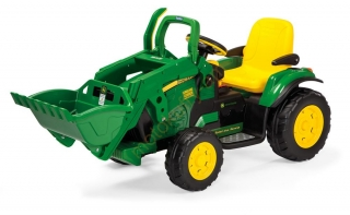 John Deere Ground Loader12V Peg-Pérego